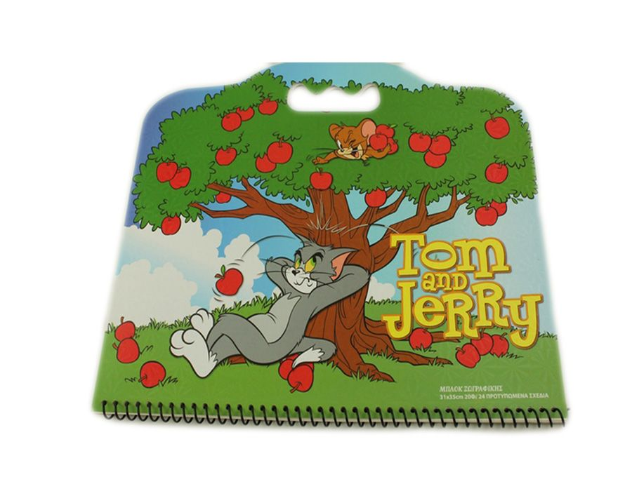 Tom and Jerry Stationery colouring book