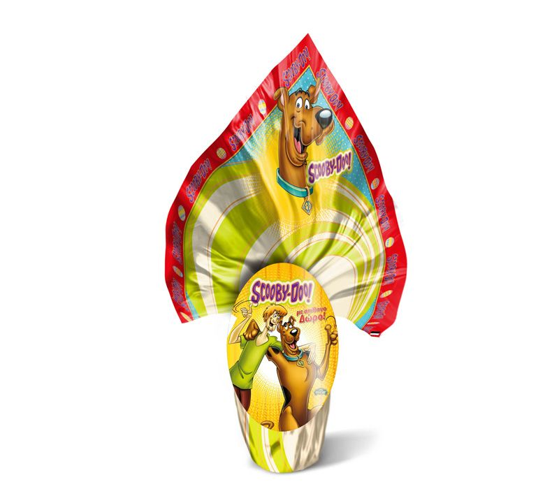 Scooby Doo Food and Beverage chocolate egg