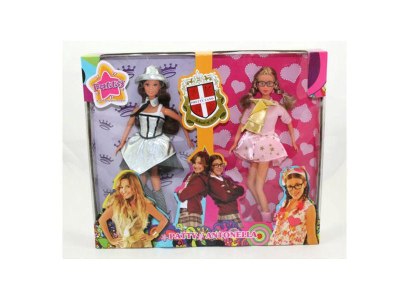 Patito Feo Toys and Games Patty & Antonella dolls