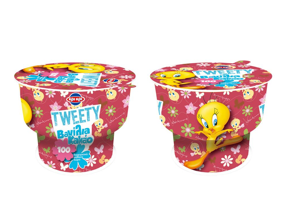 Looney Tunes Food and Beverages ice cream Tweety