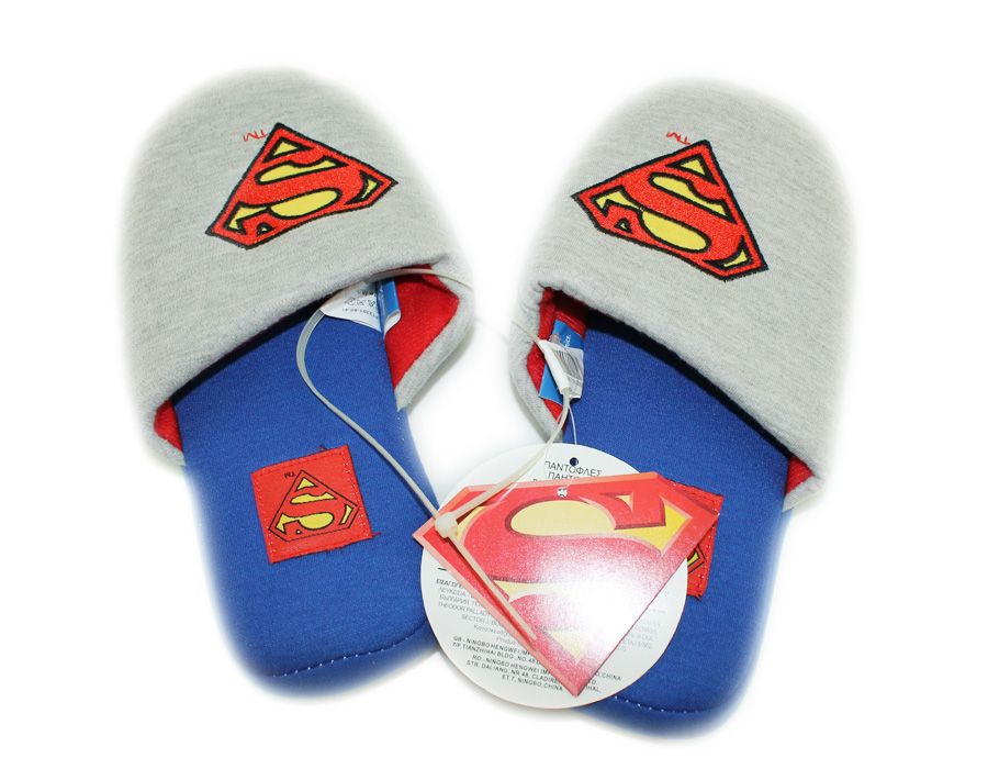 Superman accessories slippers