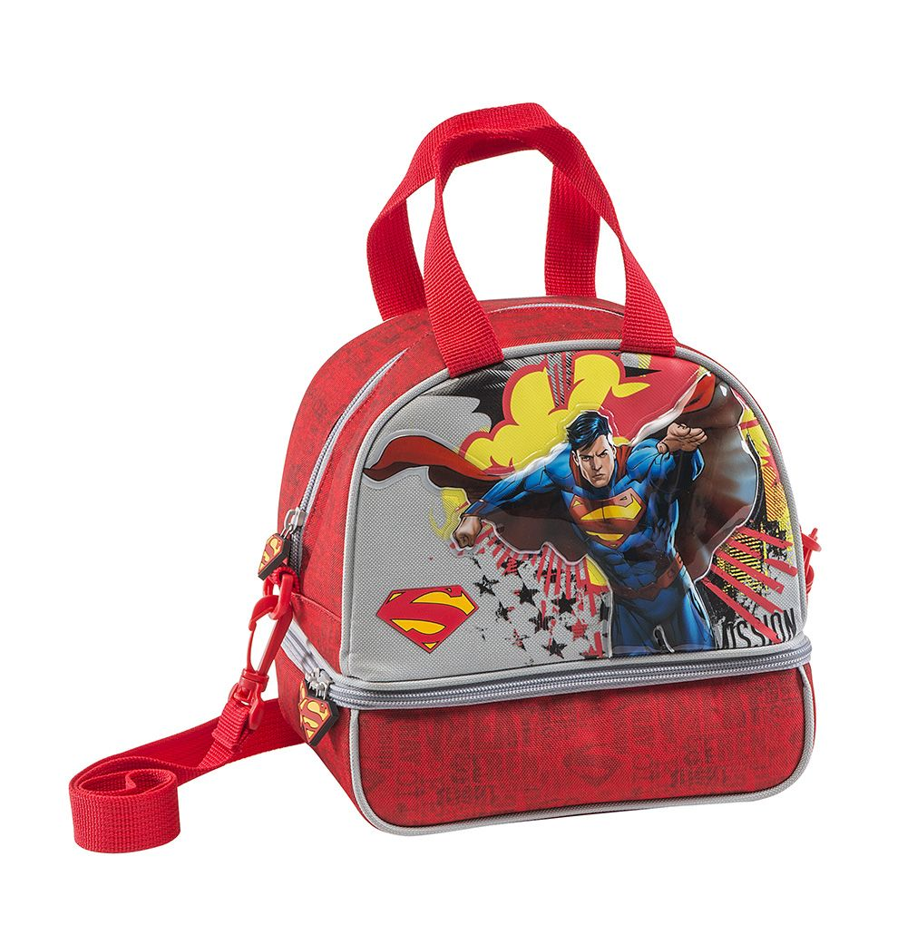 Superman Back to School backpack