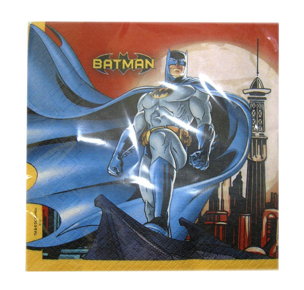 Batman Partywear paper napkins