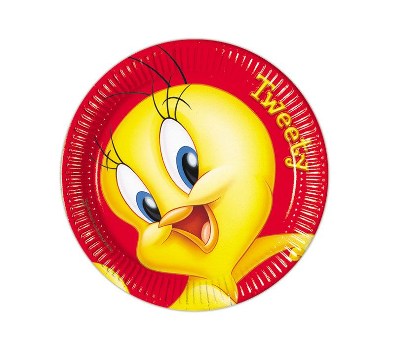 Looney Tunes party goods  plate Tweety
