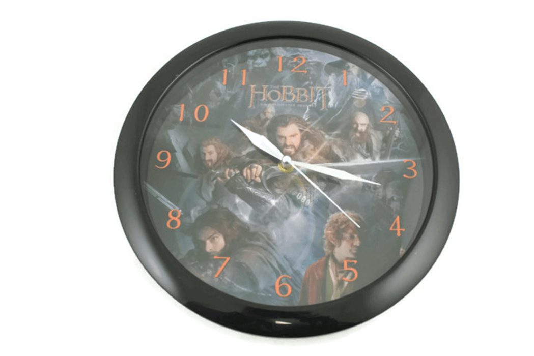 Hobbit gifting wall clock Greece