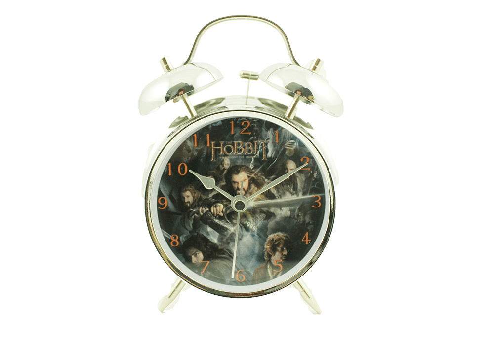 Hobbit gifting alarm clock Greece