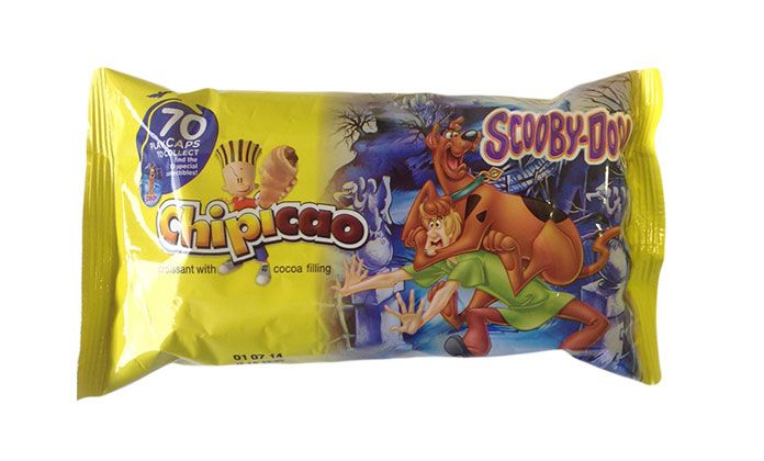 Scooby Doo Food and Promotions Croissant Greece