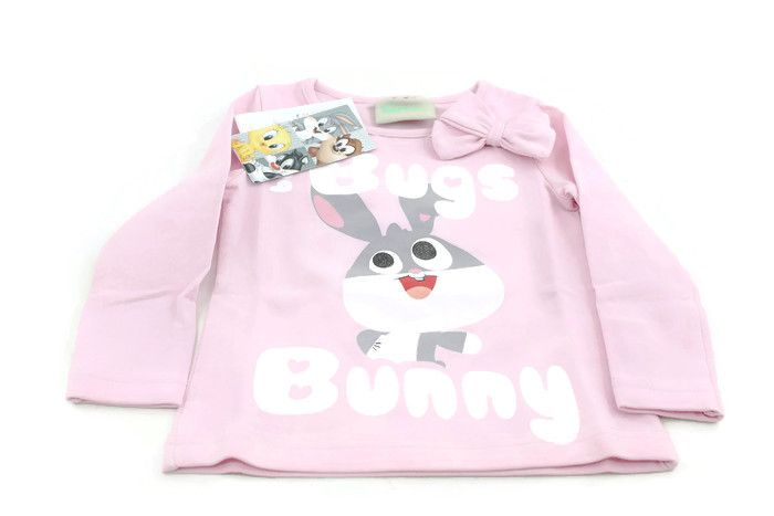 Baby Looney Tunes long sleeve pink tshirt Greece