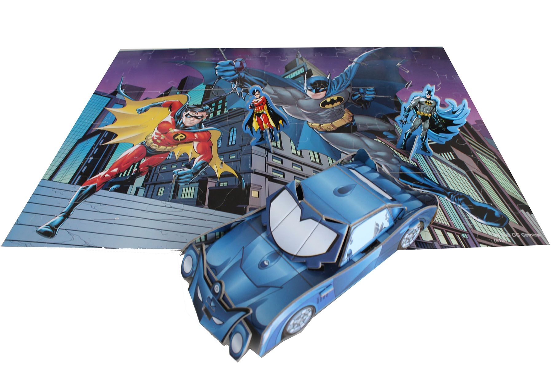Batman Toys and Games double puzzle Greece
