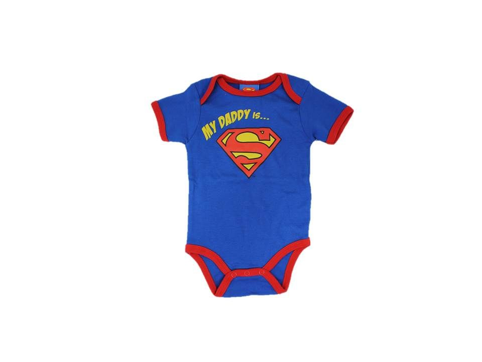 Superman Apparel babygrow Greece
