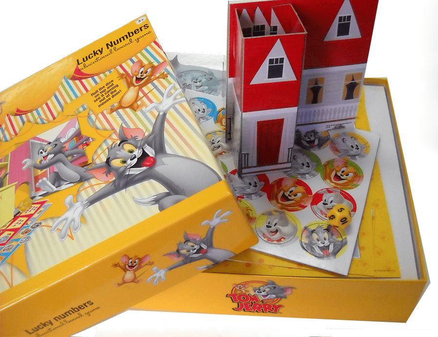 Tom and Jerry toys and games Greece