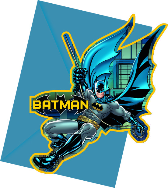 Batman party goods invitation Greece