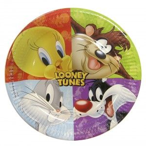 Looney Tunes party goods paper plate Greece