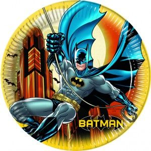 Batman party goods paper plate Greece