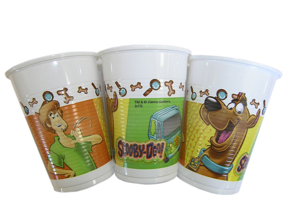 Scooby-Doo party goods cups Greece
