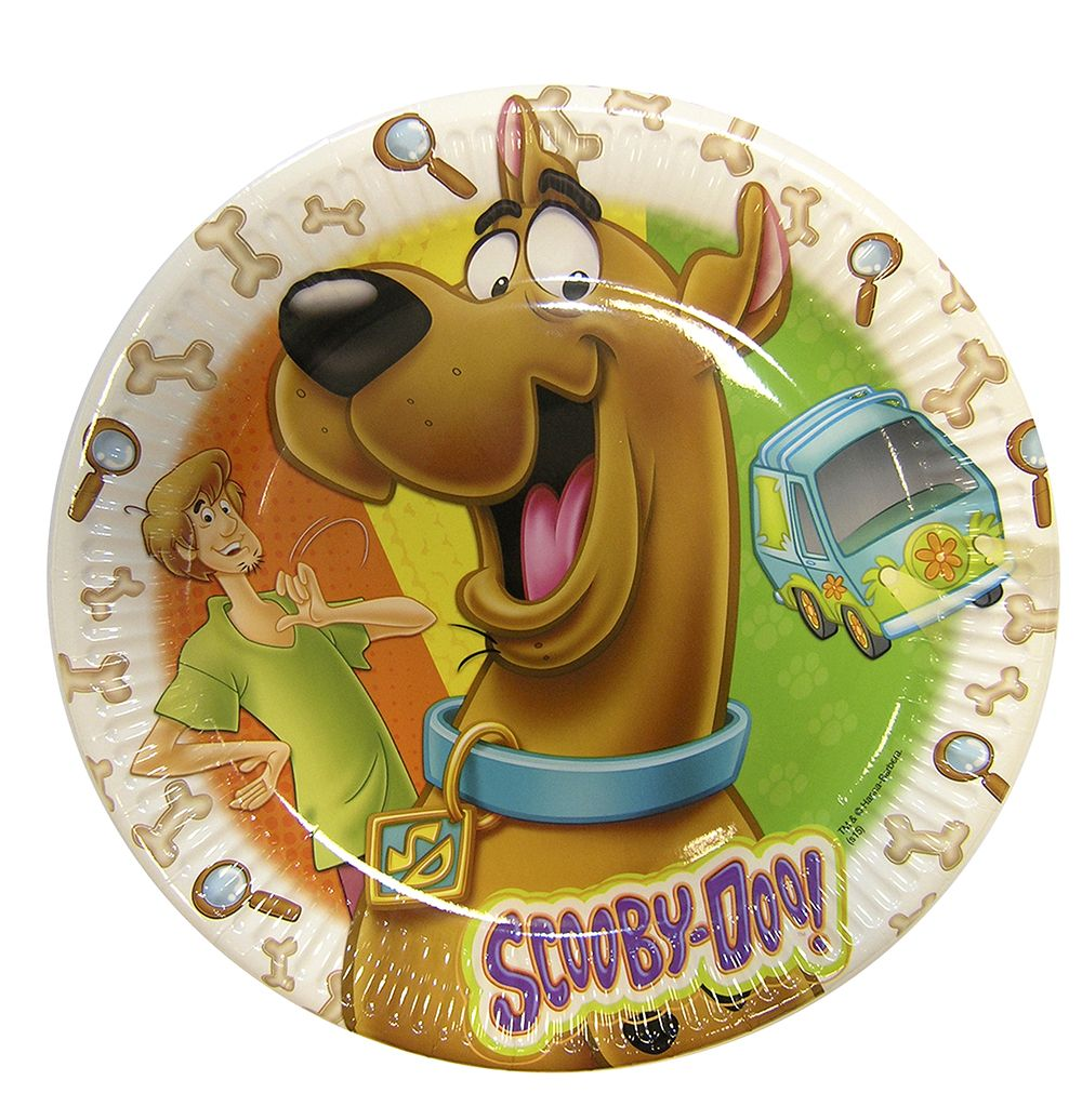 Scooby-Doo party goods paper plate Greece