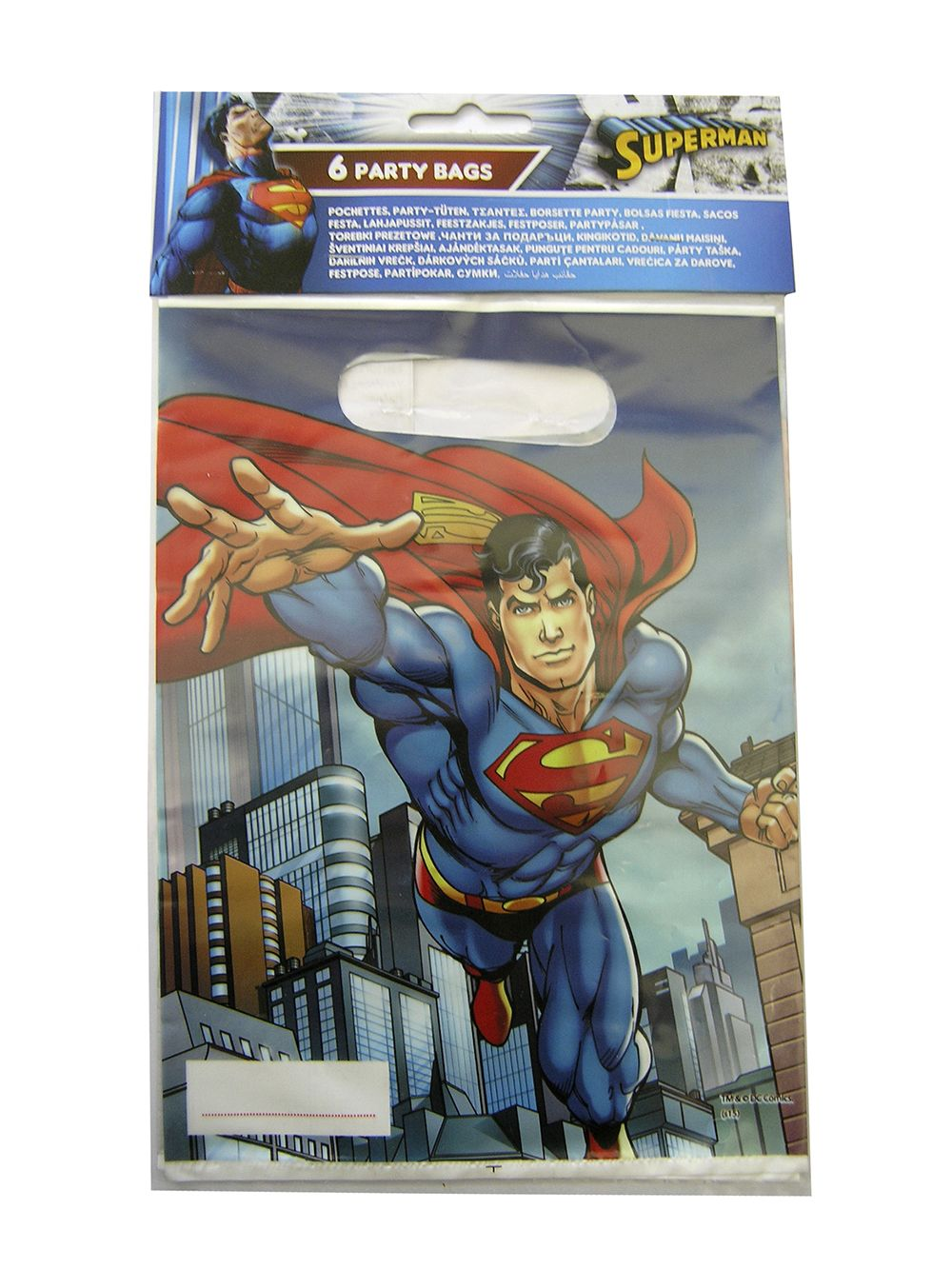 Superman party goods  party bag Greece