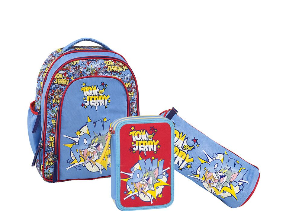 Tom and Jerry back to school backpack Greece