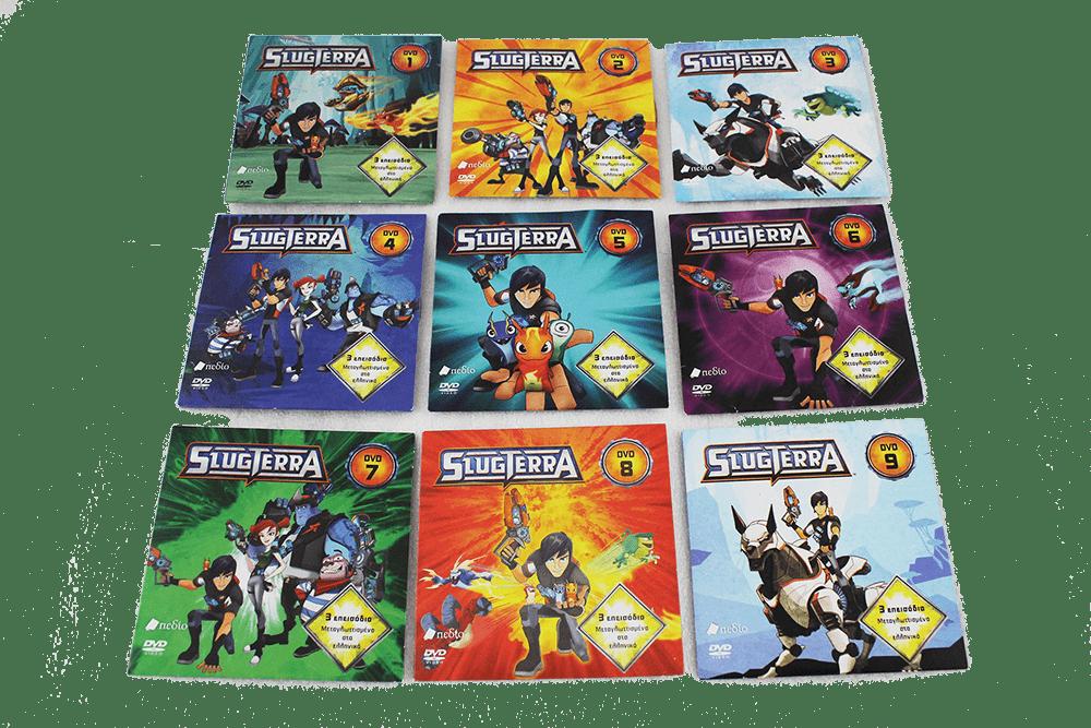 Slugterra Publishing DVD