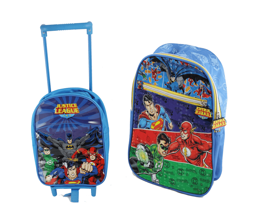 Justice League back to school backpacks