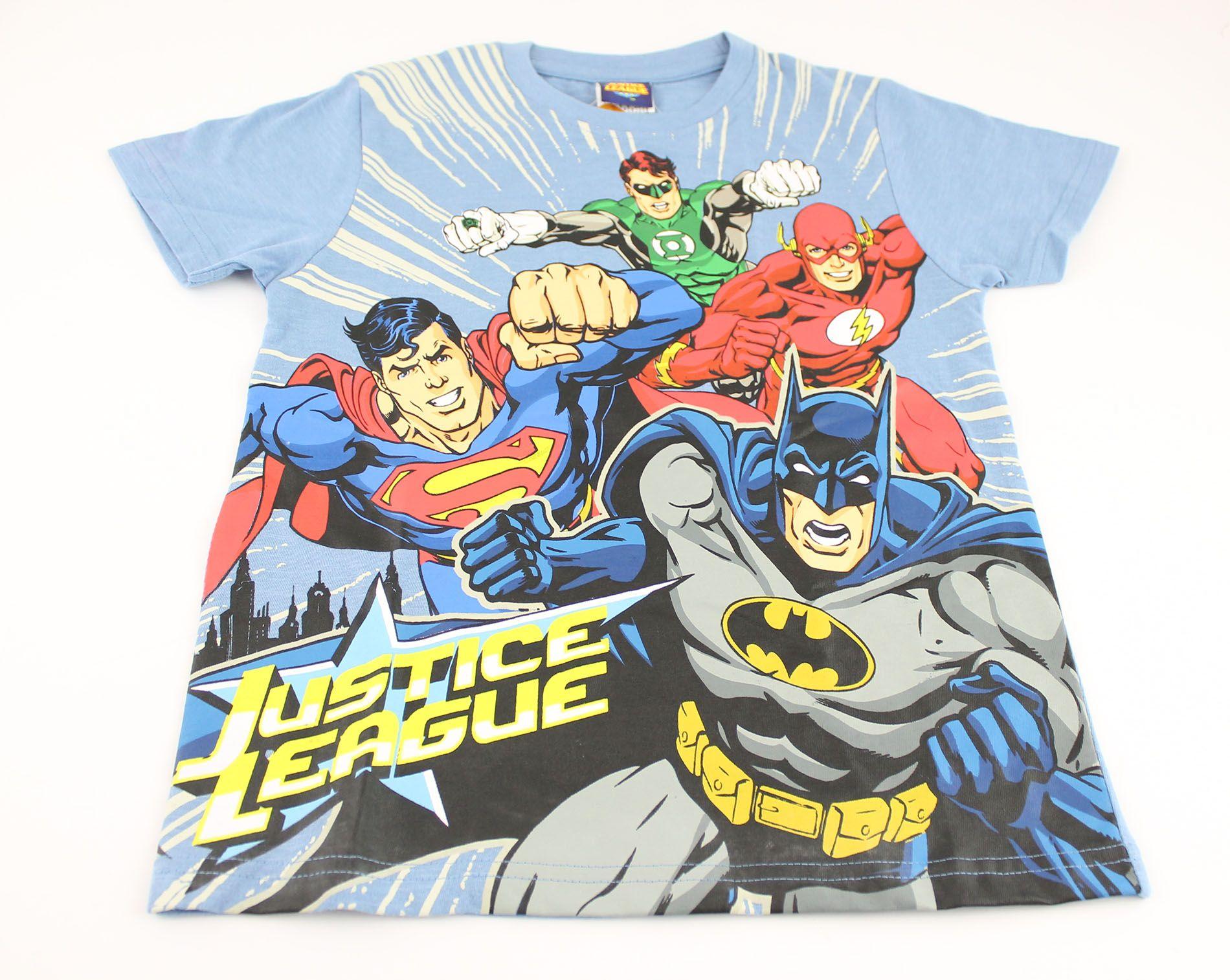 Justice League apparel tshirt