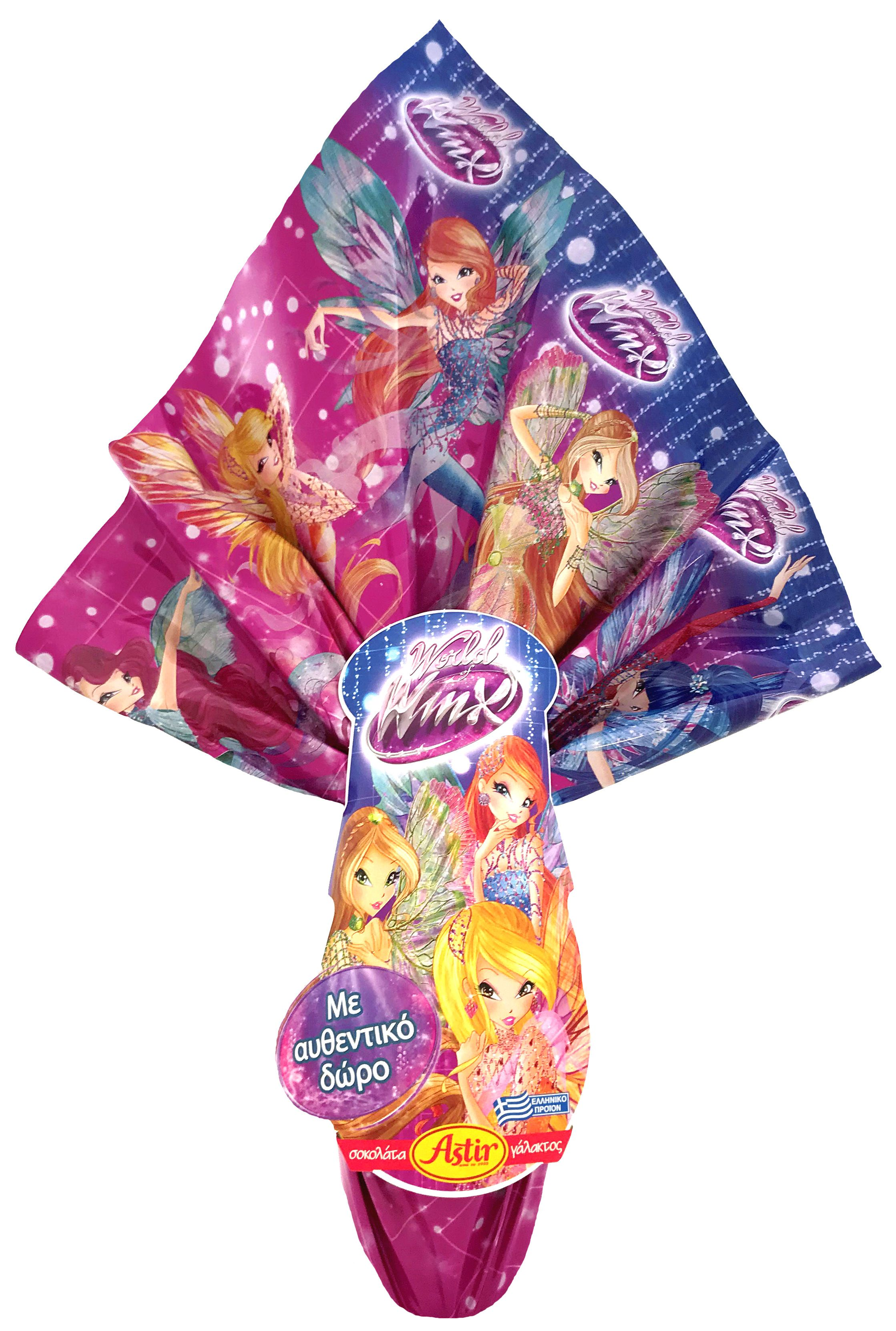 Winx Club food and promotions easter eggs