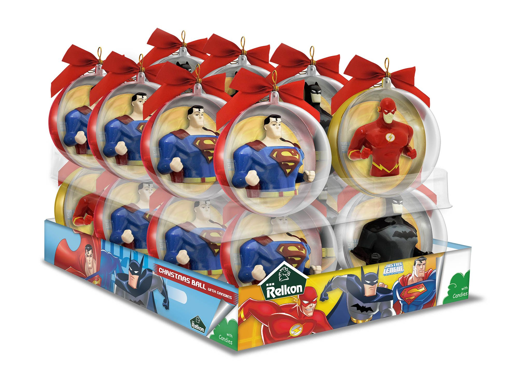 Justice League Food and Promotions Christmas balls