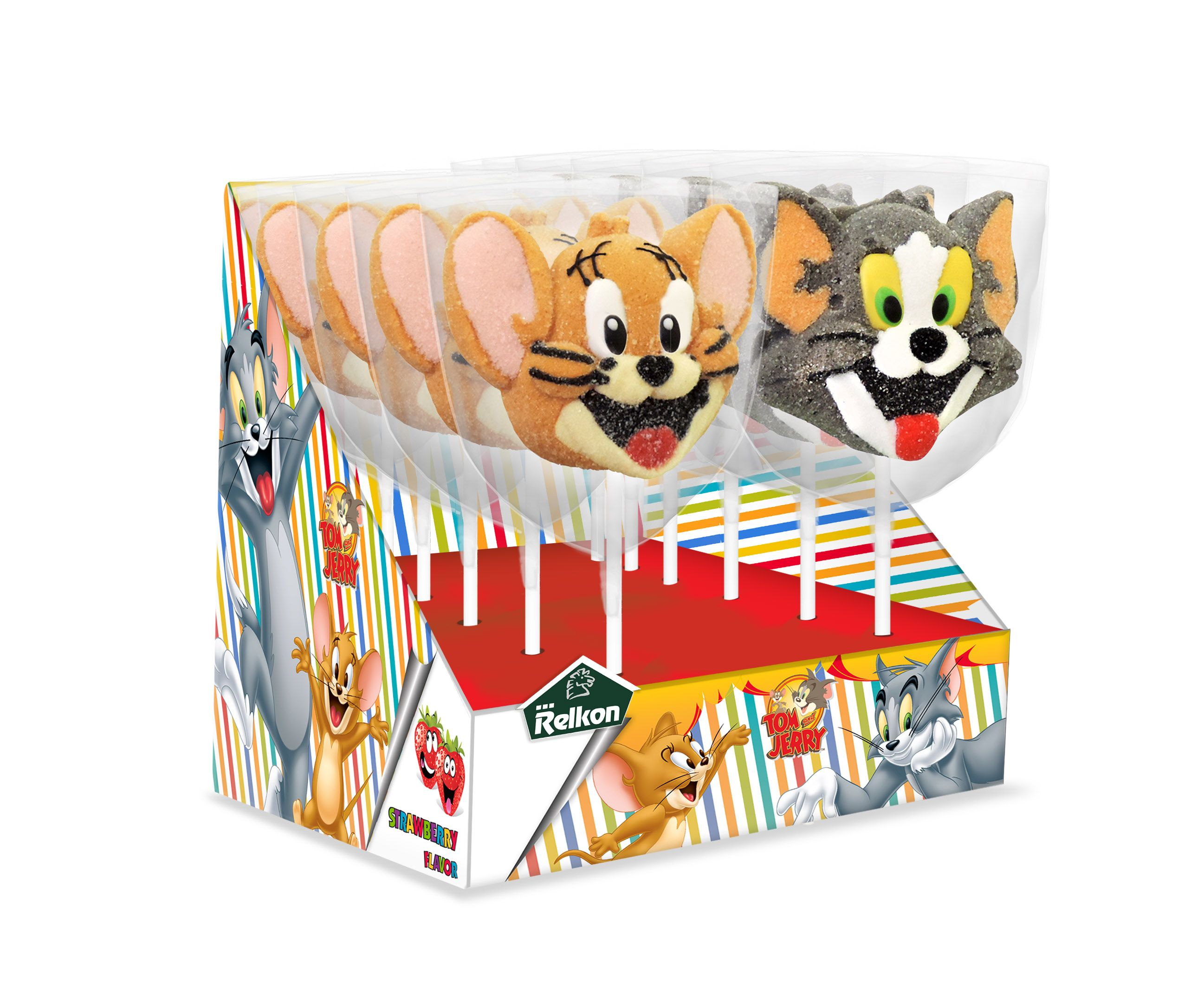 Tom and Jerry food and promotions marshmallows