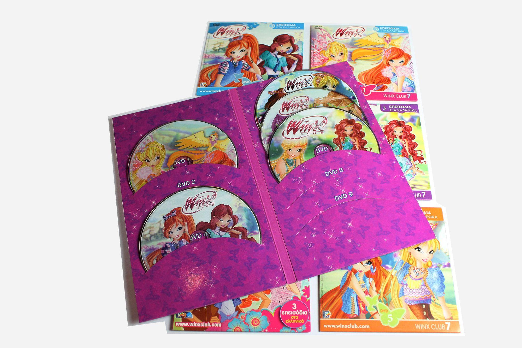 Winx publishing DVD's