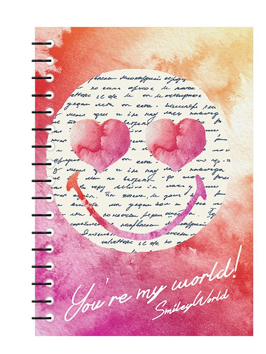 Smiley stationery notebook