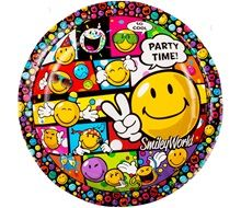Smiley partygoods plate