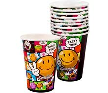 Smiley partygoods cups