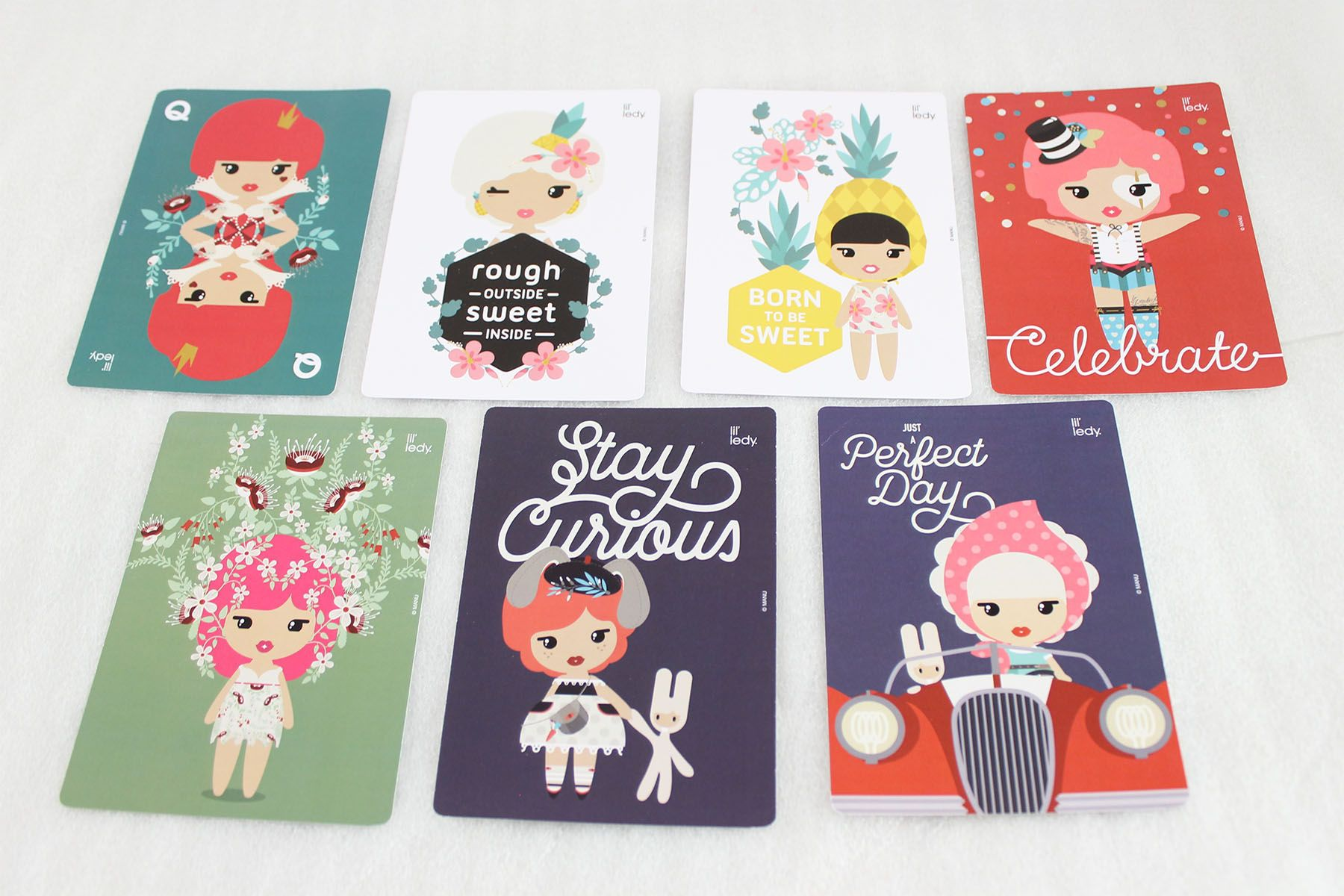 Lil'ledy stationery notebooks