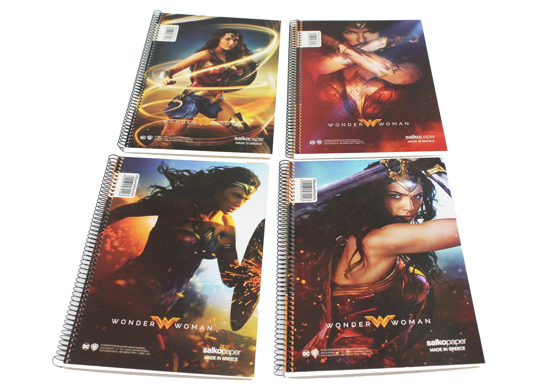 Wonder Woman stationery notebooks