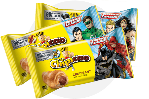 Justice League food & beverages croissant chipicao