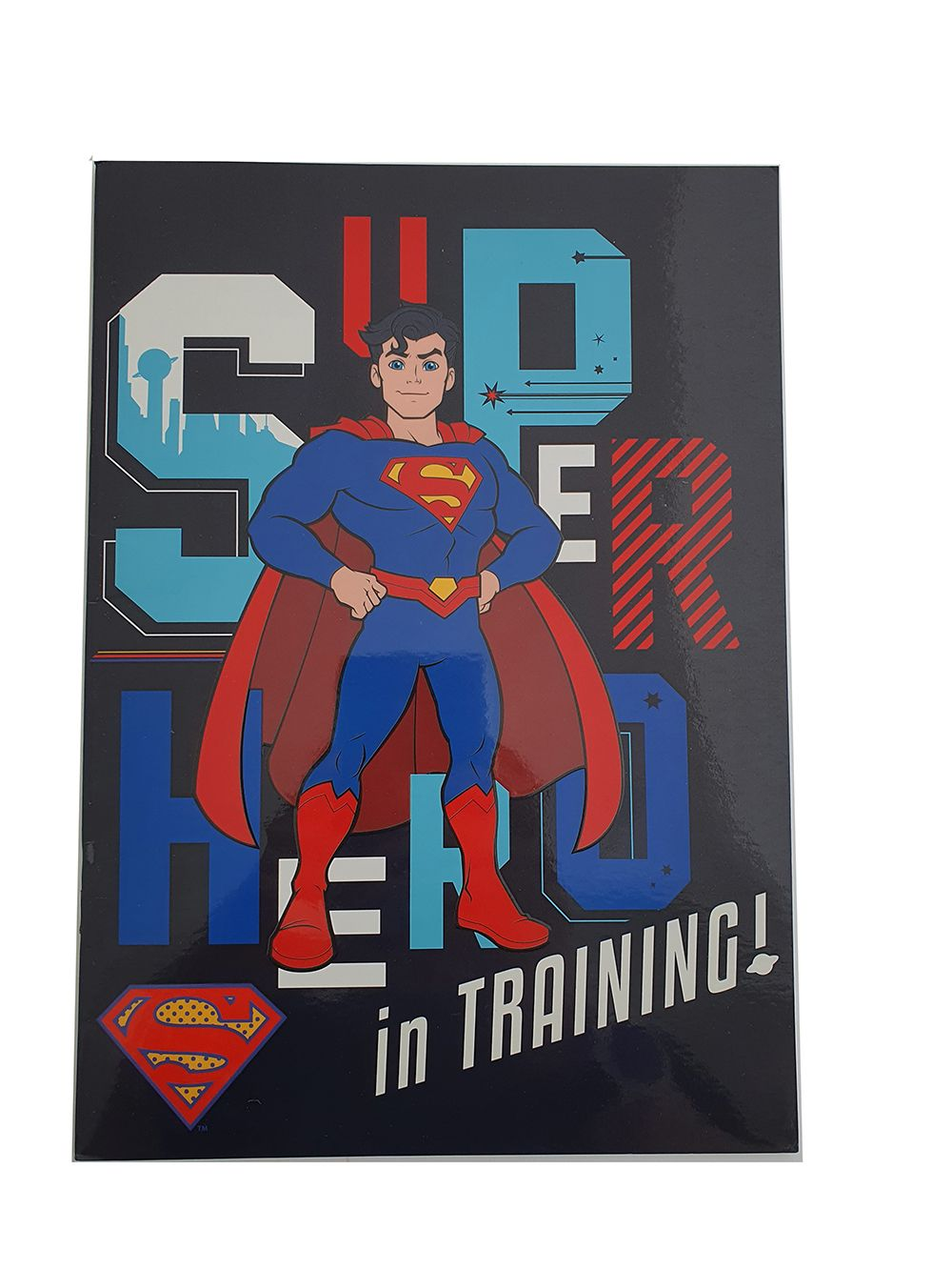 Stationery Superman notebook
