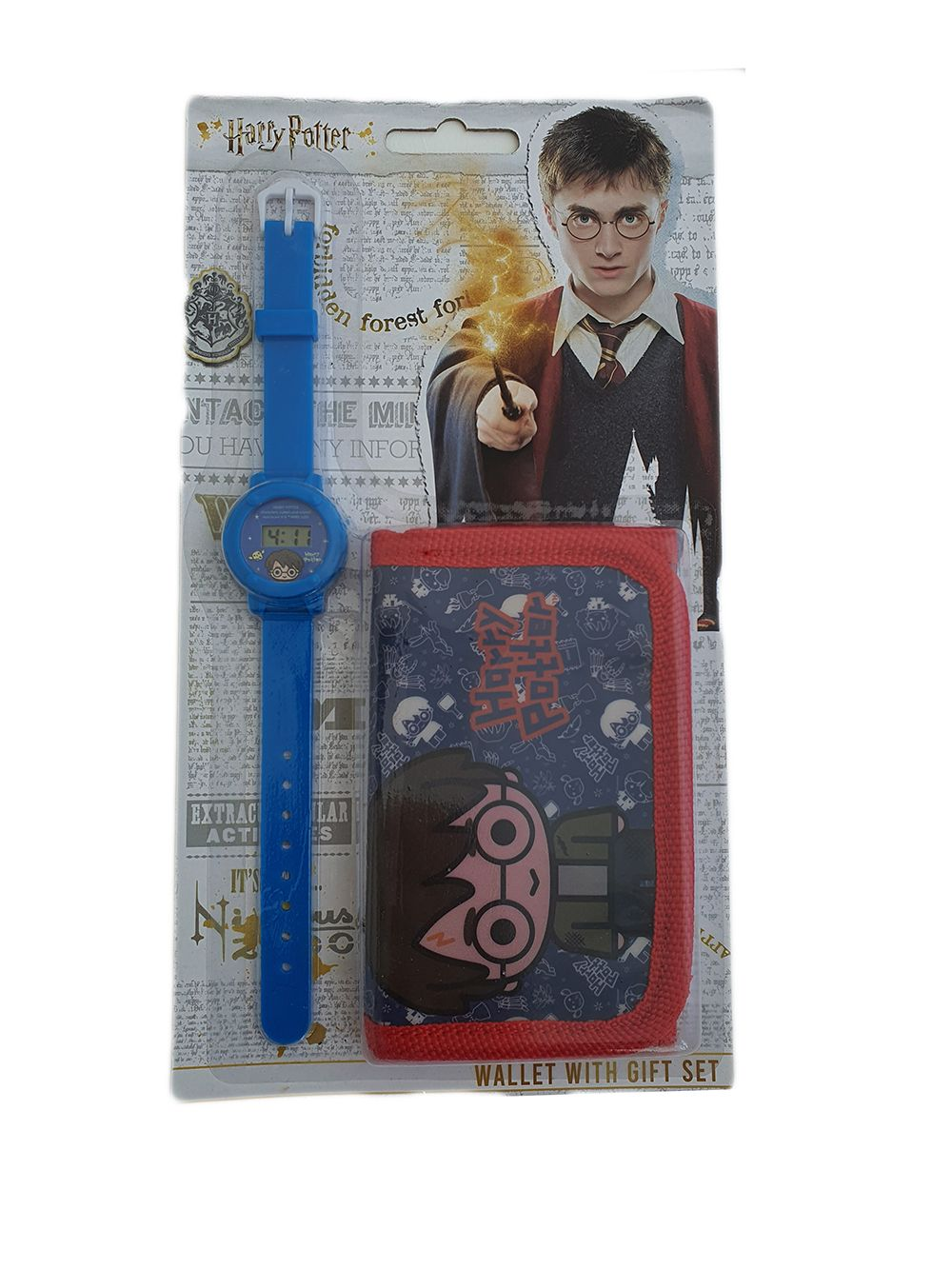 Harry Potter gifting wallet with gift set