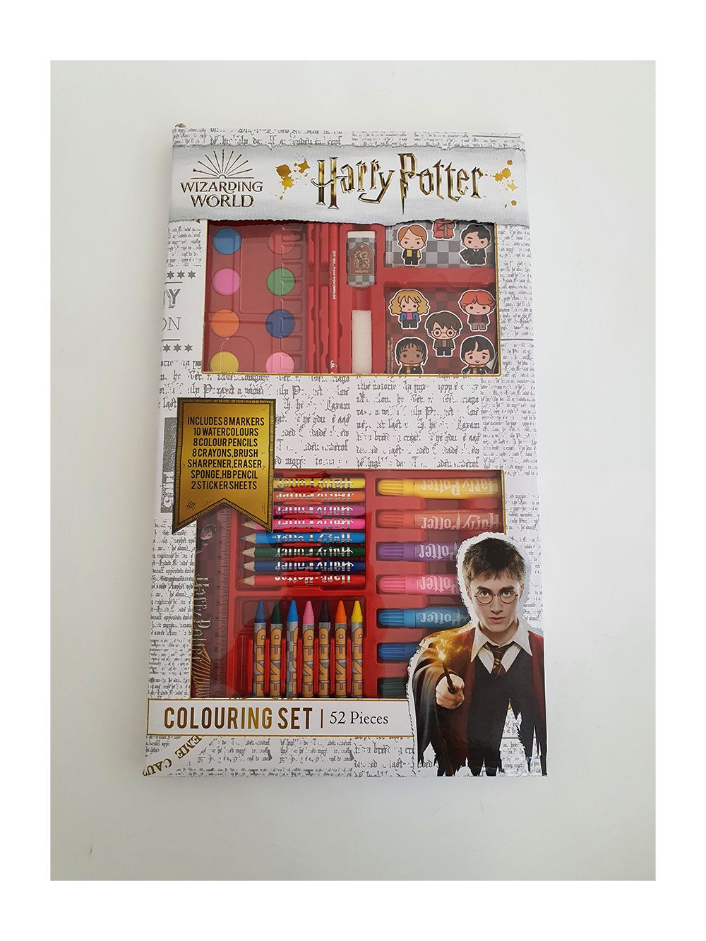 Harry Potter stationery colouring set
