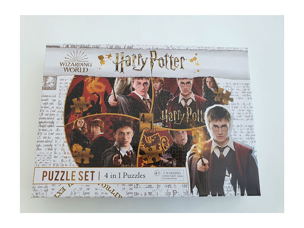 Harry Potter toys and games puzzle set